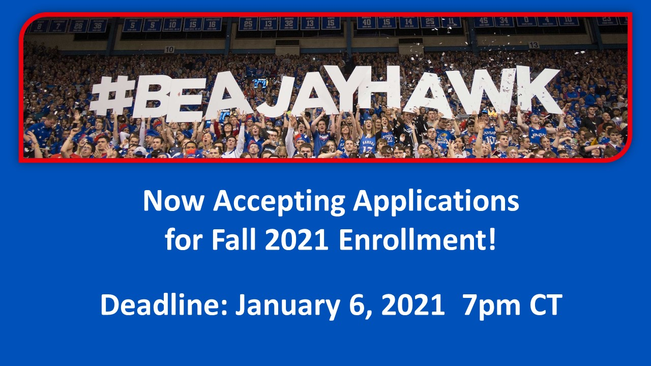 Now accepting application for Fall 2021 Enrollment